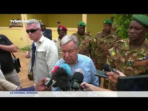 Antonio Guterres en visite au Mali