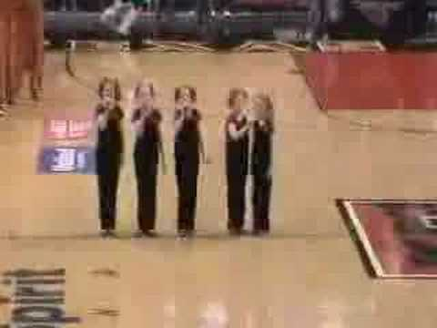 National Anthem 5 Sisters Harmony