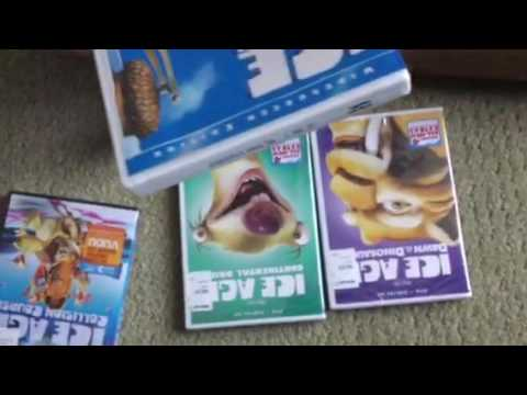 Ice Age 5-Films Collection DVD Unboxing Part 1