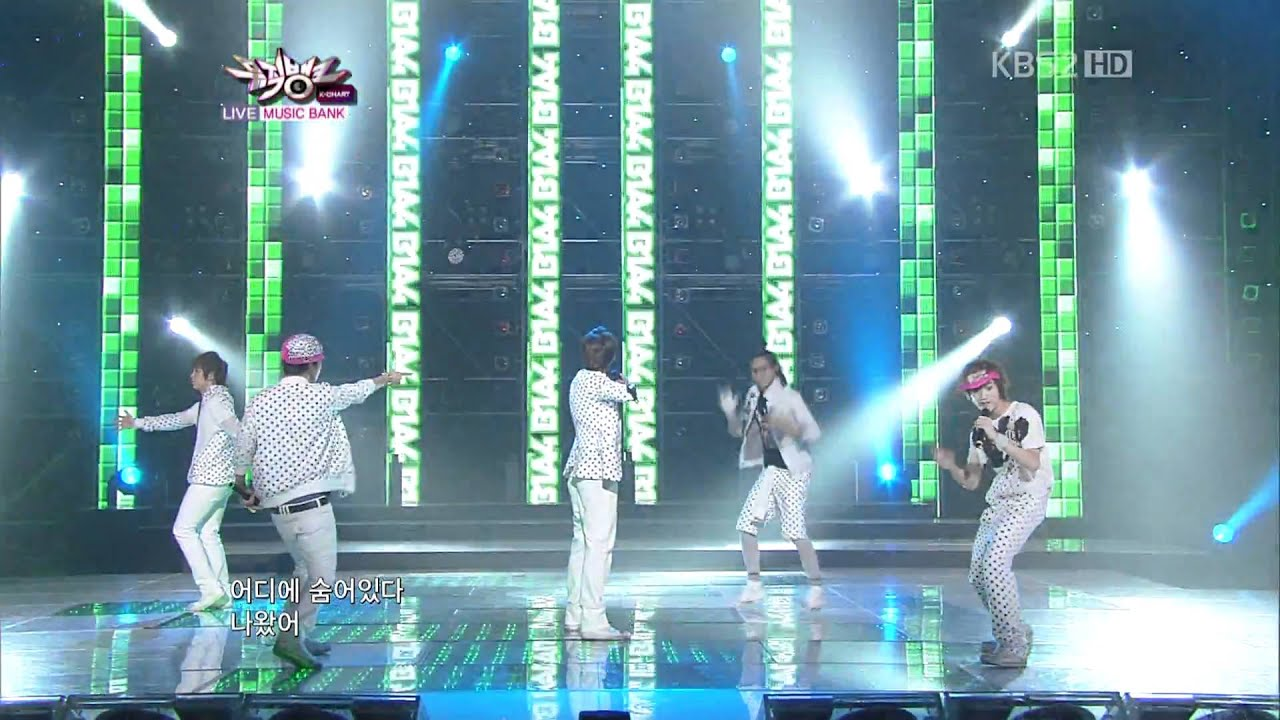 Download [110429] B1A4 - OK (Debut Stage)
