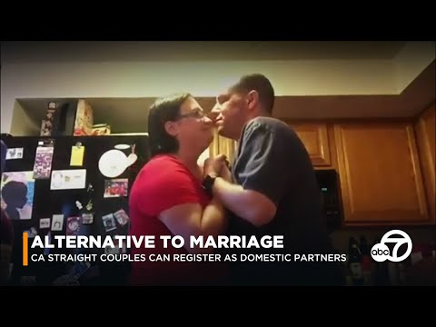 Eyewitness This: New Law Expands Domestic Partnerships In CA To Include Heterosexual Couples | ABC7