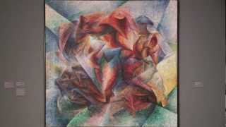 "1913 | ""Dynamism of a Soccer Player"" by Umberto Boccioni"