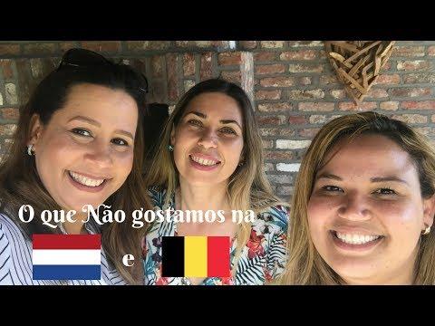 O que não gostamos na Holanda/Bélgica -  Cristina Versluis