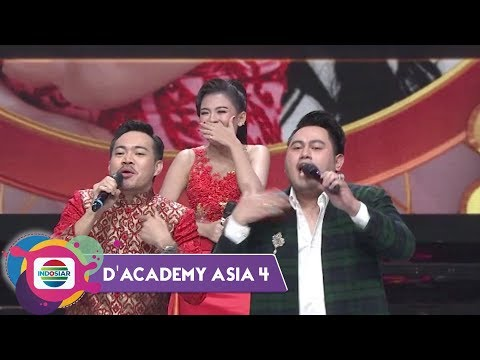 AWWW! JAMILA PUSING PILIH NASSAR ATAU MIENNAN | DA Asia 4 Top 30