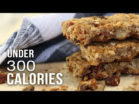 ENERGY BARS UNDER 300 CALORIES