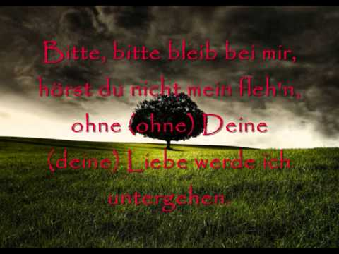 L'âme Immortelle- Bitte Bleib [Lyrics]