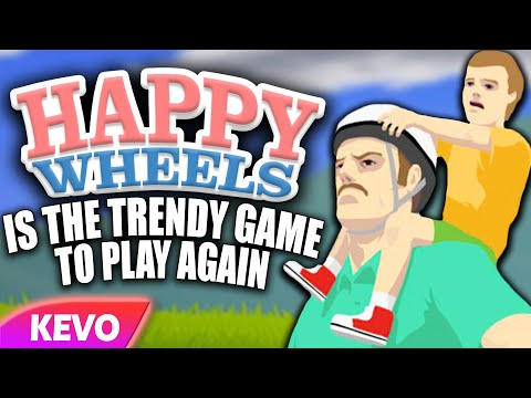 Happy Wheels is the trendy game to play again