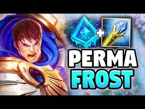 PERMAFROST GAREN BUILD! UNLIMITED SLOWS WITH THIS NEW RUNE! - League of Legends thumbnail