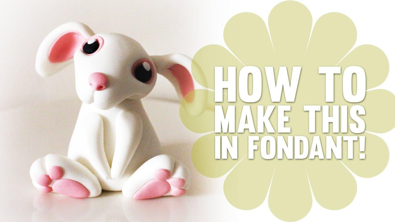 How To Make A Cute Easterbunny Cake Decorating Tutorial