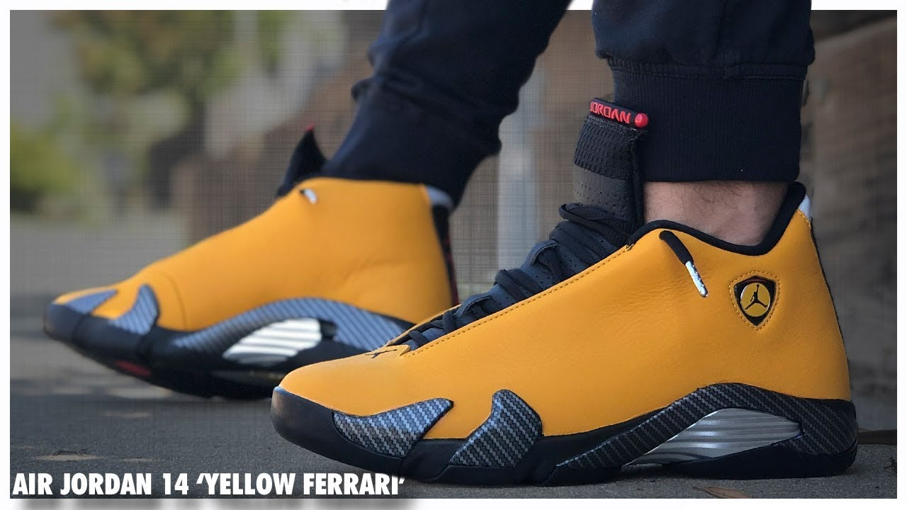 premium selection 6fca7 577af Air Jordan 14 'Reverse Ferrari' | Detailed Look and Review ...
