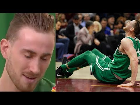 Gordon Hayward BREAKS DOWN into Tears Talking About Leg Injury
