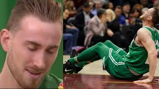 Video Gordon Hayward BREAKS DOWN into Tears Talking About Leg Injury download MP3, 3GP, MP4, WEBM, AVI, FLV November 2017