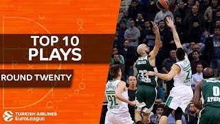 Top 10 Plays  - Turkish Airlines EuroLeague Regular Season Round 20