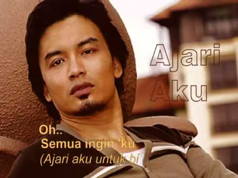 Ajari Aku-(Adrian Martadinata)-Shahrul Anuar Zain (Lyrics on Screen)