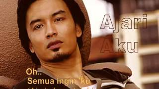 Ajari Aku-(Adrian Martadinata)-Shahrul Anuar Zain (Lyrics on Screen)