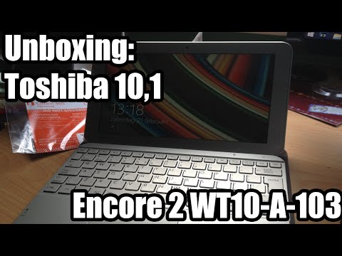 Unboxing: Toshiba Encore 2 WT10-A-103 - Dutch Unboxing