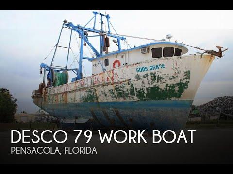 [UNAVAILABLE] Used 1971 Desco 79 Work Boat In Pensacola, Florida