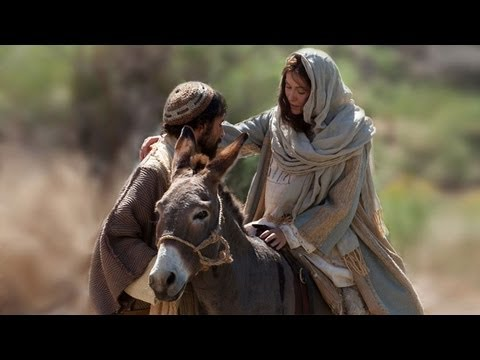 Mary and Joseph Traveling to Bethlehem Video