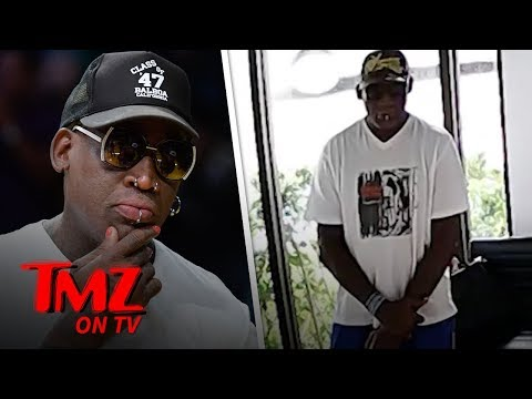 Dennis Rodman Clothing Heist Caught On Video! | TMZ TV