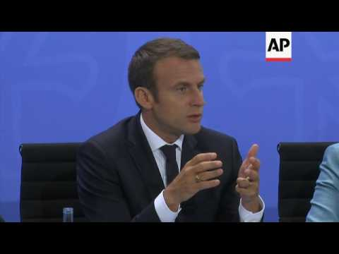 Macron committed to Paris climate accord