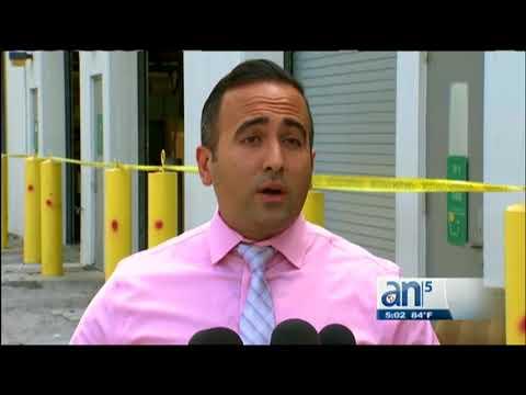 Emergencia En El Aeropuerto De Miami Tras La Caída De Un Hombre De Un Estacionamiento
