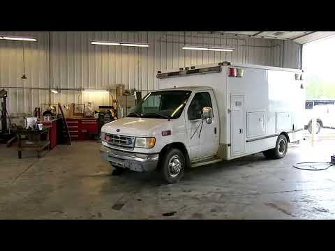 1998 Ford Econoline E350 ambulance for sale at auction | bidding closes May 21, 2019