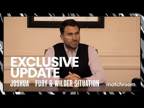 Eddie Hearn reacts to Fury vs Wilder court arbitration & Joshua fight