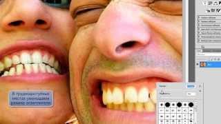 Урок №2 по Adobe Photoshop CS5 [Отбеливаем зубы]