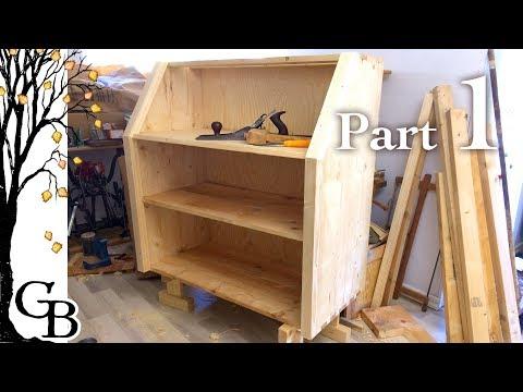 Secretary Desk Build – Part 1