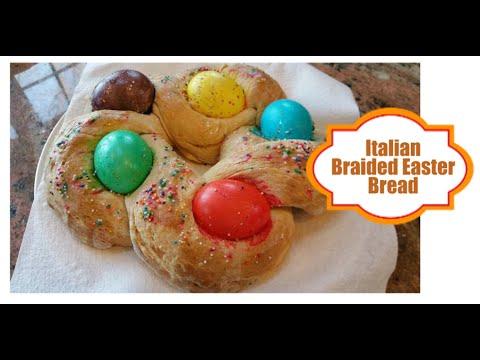 Recipe || Italian Braided Easter Egg Bread ||