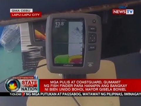 SONA: Mga pulis at coastguard, gumamit ng fish finder para hanapin ang bangkay ni Gisela Boniel