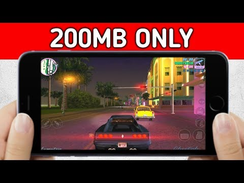 [200MB] GTA Vice City For Android | 2019 Best Open World Game