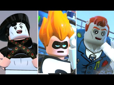 LEGO The Incredibles - All Secret Boss Fights