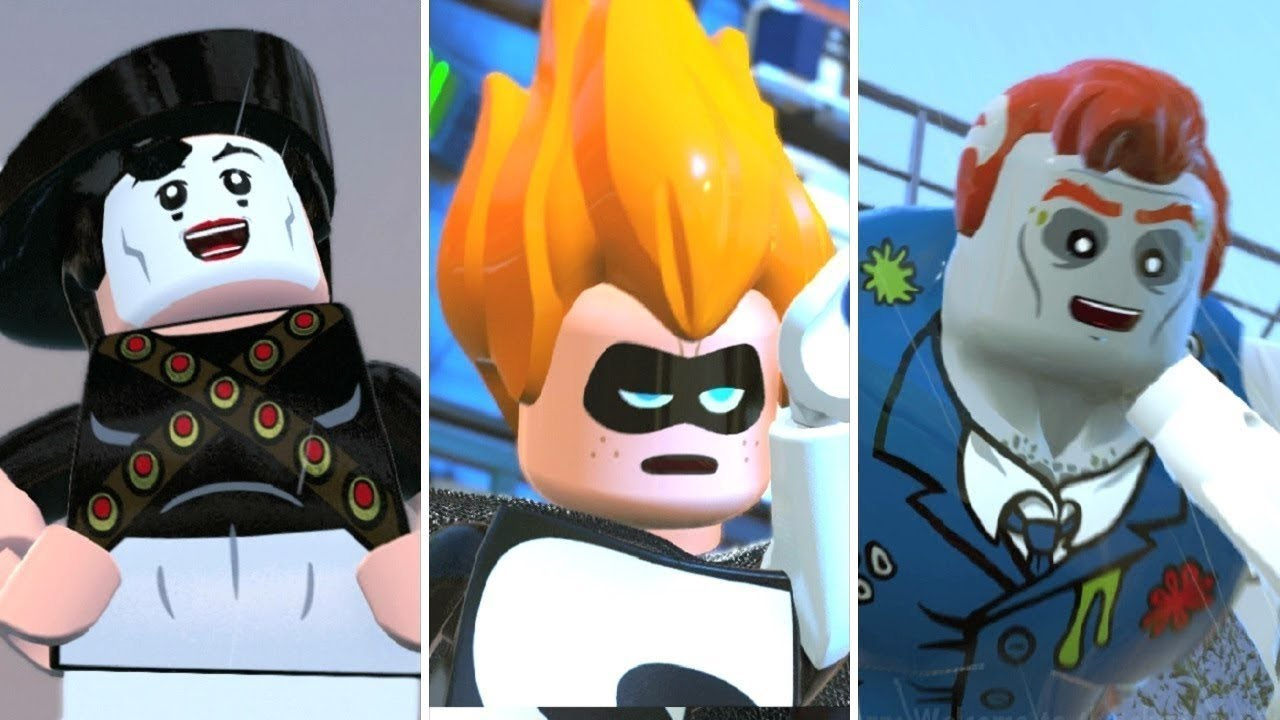 LEGO The Incredibles - All Bonus Boss Fights