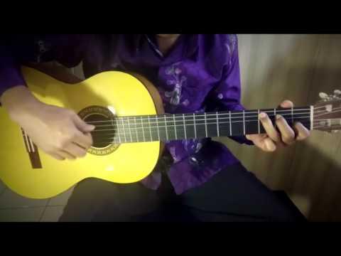 (Tutorial Fingerstyle) Gugur Bunga - Lagu Wajib Nasional