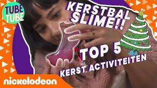 Slijm in je Kerstbal! 😍 🎄 | TubeTube | Nickelodeon Nederlands