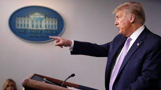 Will the 2020 U.S. election be U.S. President Trump vs COVID-19?