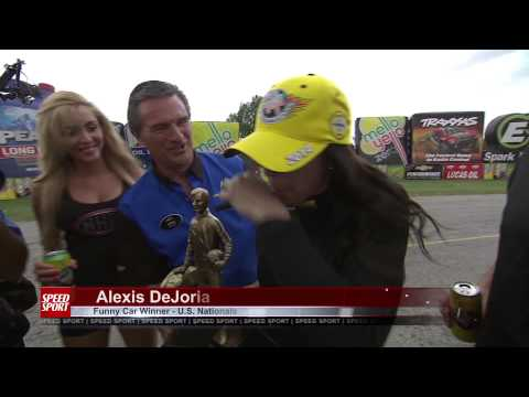 NHRA U.S. Nationals & Budweiser Classic - SPEED SPORT Magazine Episode 8 Part 1 - MAVTV - Racing