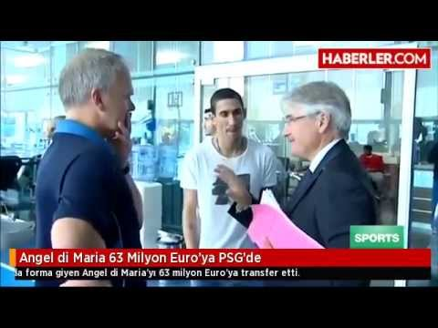 Angel di Maria 63 Milyon Euro'ya PSG'de