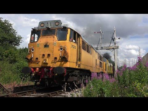 Midland Railway -  Diesel Gala - July 23rd 2016 - 4K