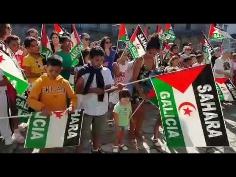 Niños saharauis, en Galicia para tener unas 'Vacacións en paz'