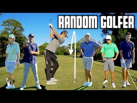 Random College Golfer Alternate Shot Challenge | GM GOLF