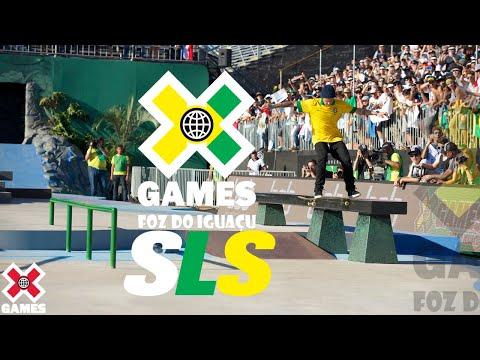 Street League Foz do Iguaçu 2013: X GAMES THROWBACK