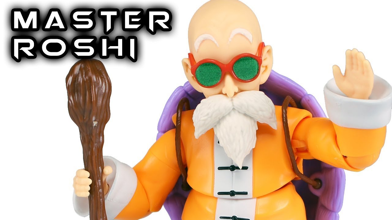 Figuarts Action Figure Bandai Roshi Kame Sennin Maestro Muten S.H DRAGON BALL