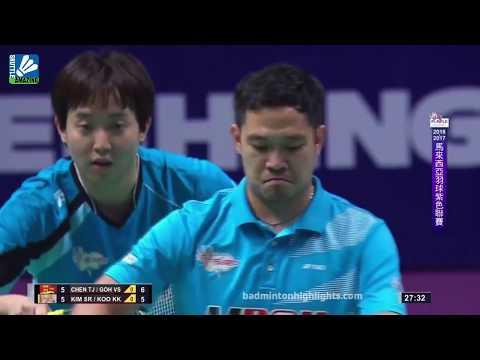 Koo Kien Keat/ Kim Sa Rang vs Goh V Shem/ Chen Tang Jie   Purple League   Shuttle Amazing