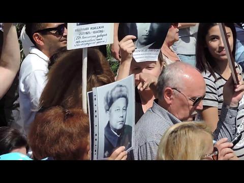 9 Мая 2017 г. День памяти и почести в Ташкенте