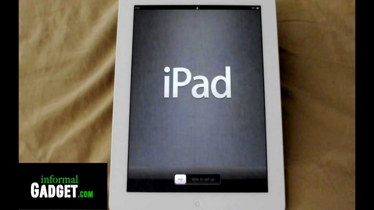 Howto Reset And Erase All Data On An Ipad 3 Or Any Ios Device Iphone,  Ipad, Ipod Without Itunes  Youtube