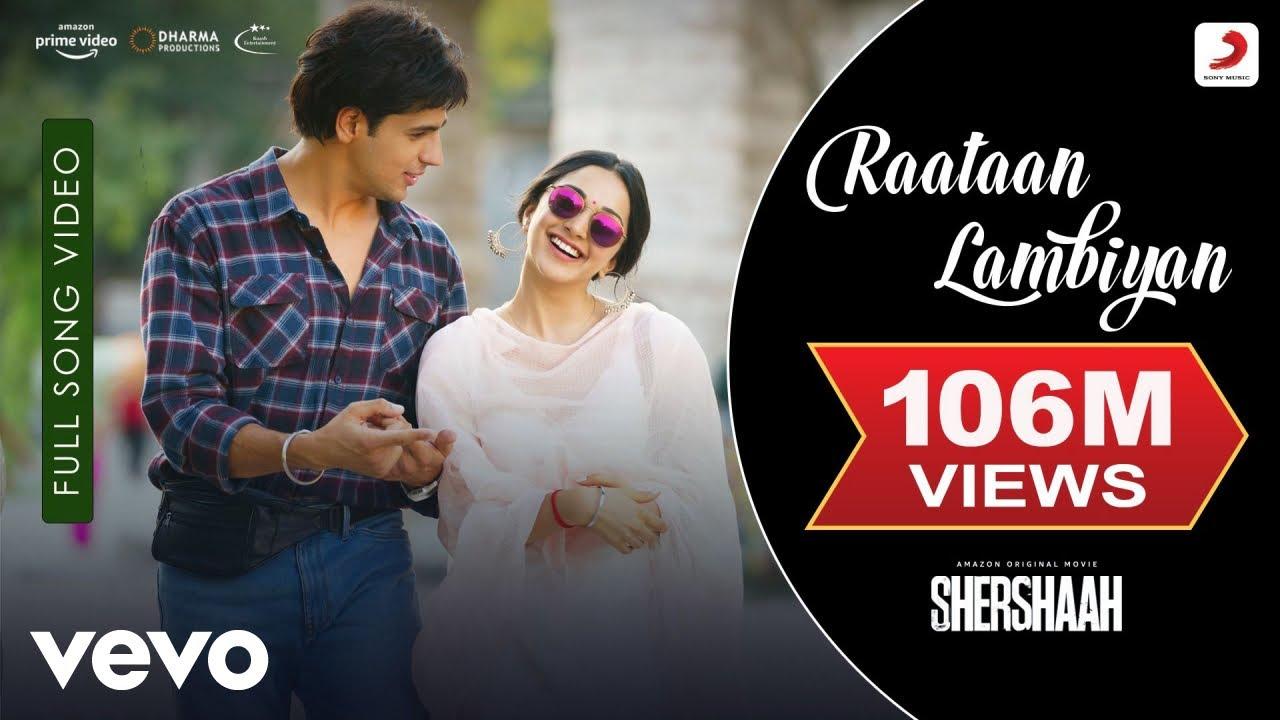 Download Raataan Lambiyan - Full Song Video|Shershaah |Sidharth–Kiara|Tanishk B.|Jubin|Asees