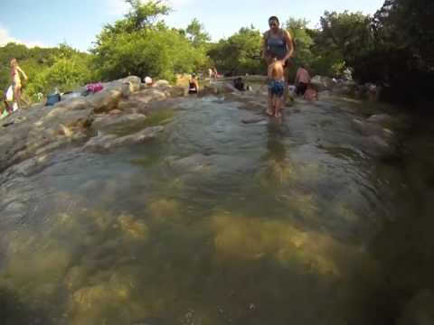 Barton Creek Greenbelt - Twin Falls - Austin, Texas