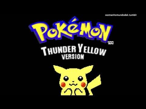 Pokémon Thunder Yellow - Yellow Remake GBA Preview
